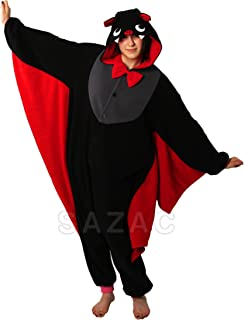 Halloween Bat Kigurumi - Adult Costume Pajamas