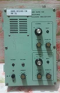 JRC NRE - 55 Marine Guard Receiver for VHF Tel | Ship Radio Room VHF Guard Receiver for Tel