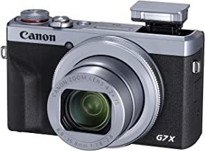 Canon PowerShot Digital Camera [G7 X Mark III] with Wi-Fi & NFC, LCD Screen and 4K Video - Silver