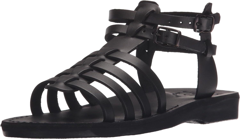 Leah - Leather Gladiator Sandal Tan service Max 64% OFF
