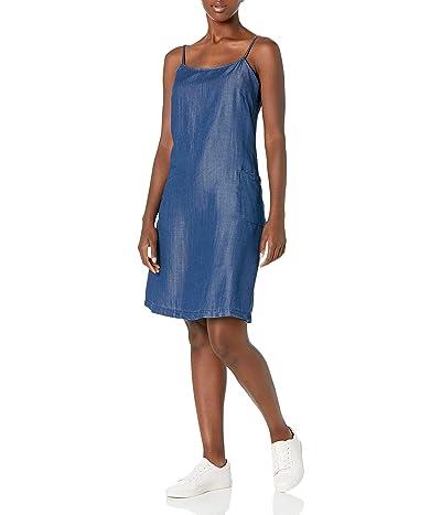 Calvin Klein A-line Slip Dress With Front Pockets