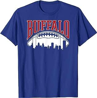 Buffalo Football   Vintage Skyline New York Bills Mafia Gift T-Shirt