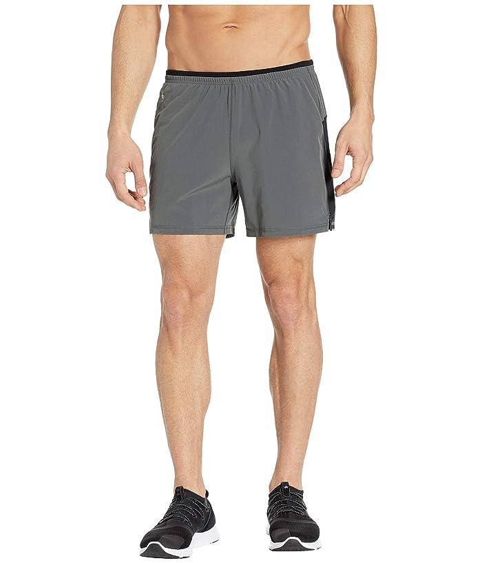 Smartwool Merino Sport Lined 5 Shorts (Graphite) Men