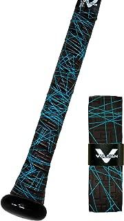 Vulcan 1.00mm Bat Grips/Electric Blue Lazer