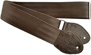 Souldier Custom GS0000BR04DB Recycled Seatbelt Acoustic Guitar Strap, Brown