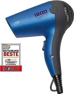 Clatronic HT 3428 - Secador de pelo de viaje, color azul met