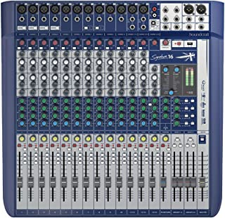 Soundcraft Signature 16 High-Performance 16-input Small Format Analog Mixer with Onboard Effects