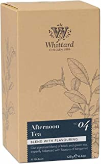 Whittard Tea Afternoon 50 Traditional Teabags