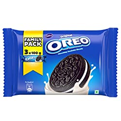 Cadbury Oreo Chocolate Creme Biscuit Family Pack, 300 g