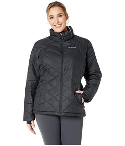 Columbia Plus Size Heavenly Jacket (Black) Women