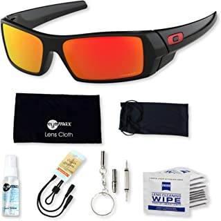 Gascan OO9014 Sunglasses Bundle with original case, and accessories (6 items)
