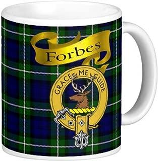 Scottish Clan Forbes on 11 Oz. Ceramic Coffee Mug Clan Crest on Both Sides
