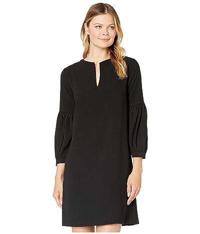 Karen Kane Bishop Sleeve Dress (Black) Women