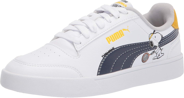 PUMA Unisex-Child Peanuts Shuffle Sneaker