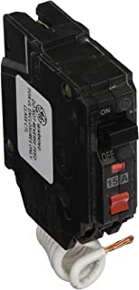 GE Energy Industrial Solutions THQL1115GFP Single Pole Circuit Breaker, 15-Amp