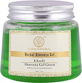 Khadi Natural Aloe Vera Gel, Green, 200g