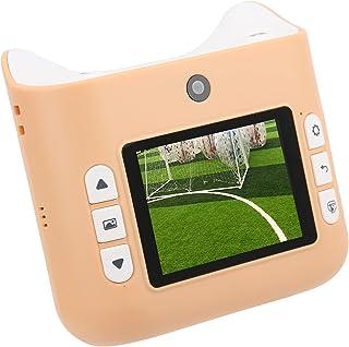 Instant Print-camera, 2,4 inch IPS-schermvideocamera, ondersteuning voor maximaal 32 GB TF-kaart, ideale cadeaus voor kind...