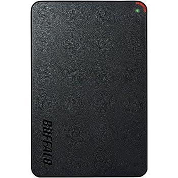 BUFFALO ミニステーション USB3.1(Gen1)/USB3.0用ポータブルHDD 1TB HD-PCFS1.0U3-BBA