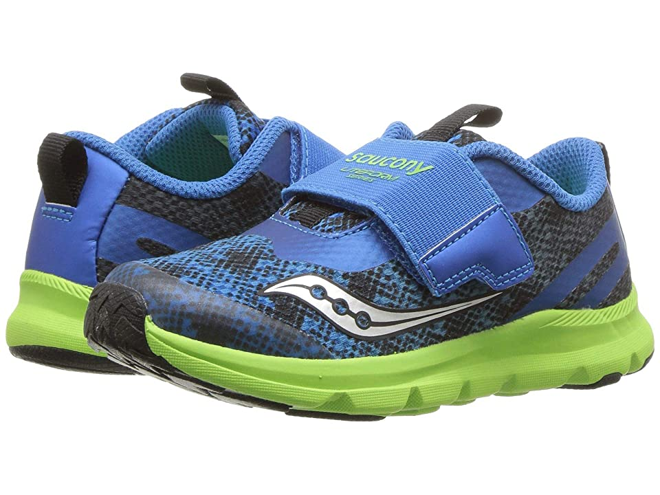 Saucony Kids Liteform (Toddler/Little Kid) (Blue/Green) Boys Shoes