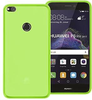 3dbd9475be0 TBOC® Funda de Gel TPU Verde para Huawei P8 Lite (2017) (5.2