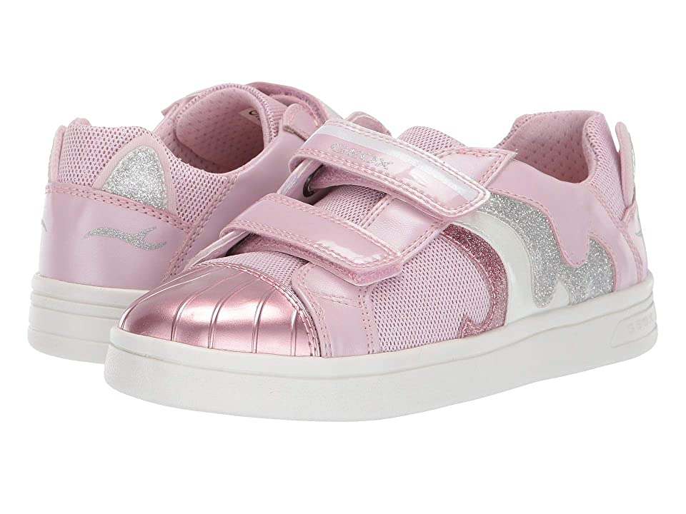 Geox Kids Djrock Girl 20 (Little Kid/Big Kid) (Light Pink) Girl