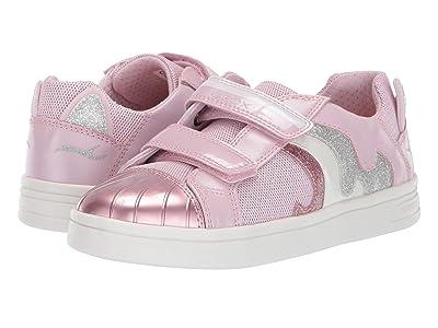 Geox Kids Djrock Girl 20 (Little Kid/Big Kid) (Light Pink) Girl