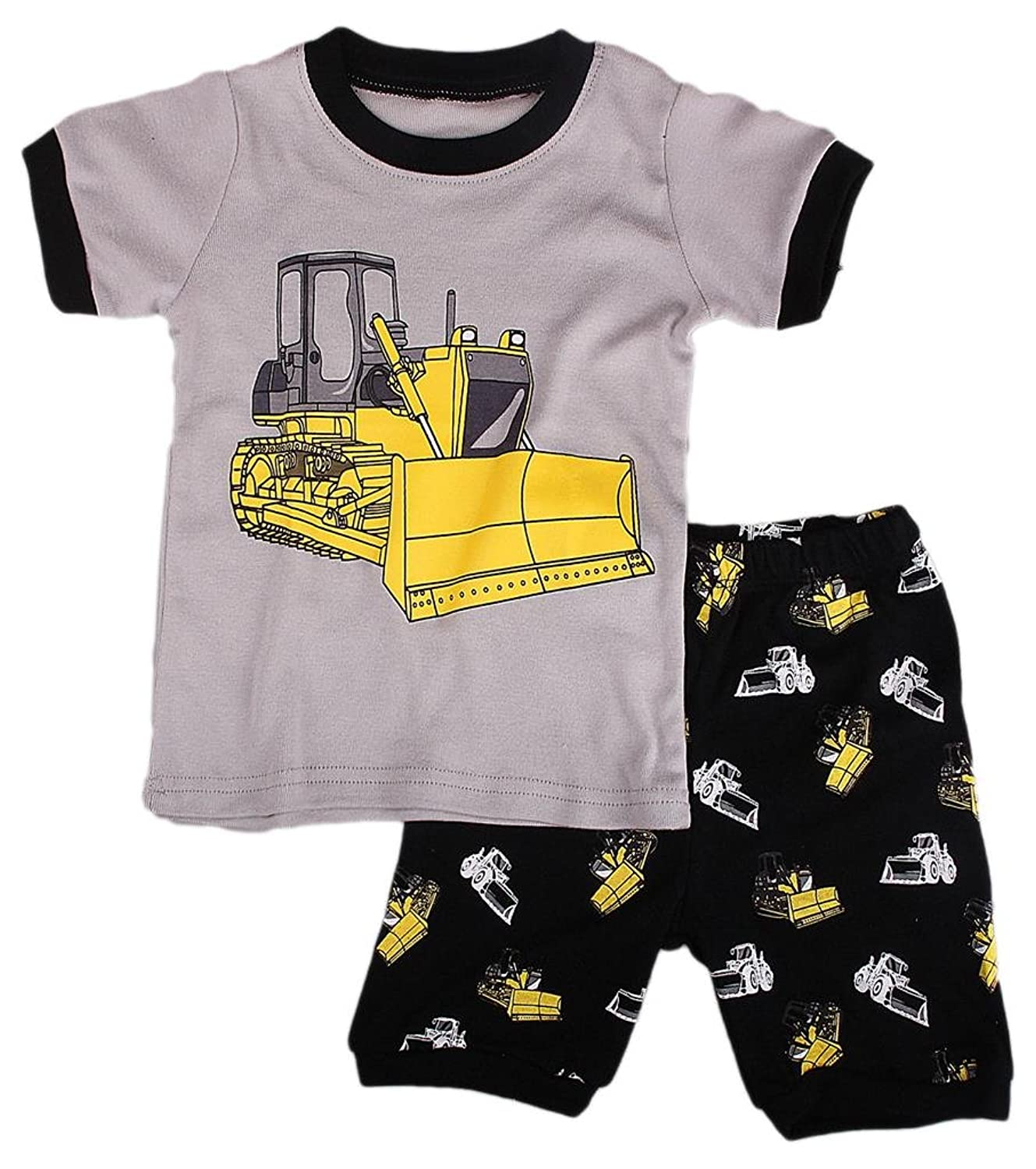 Babytree幼児ボーイズ2ピースForkliftパジャマショートClothingセット
