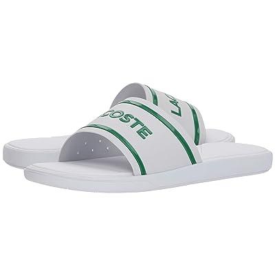 Lacoste L.30 Slide 218 1 (White/Green) Women