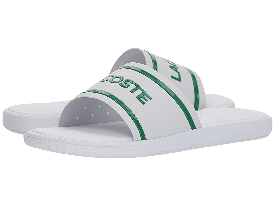 Lacoste L.30 Slide 218 1 (White/Green) Women