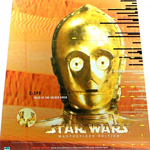 C-3PO Tales of the Golden Droid 12  Inch, 30 cm Actionfigur Star Wars Masterpiece Limited Edition von Hasbro