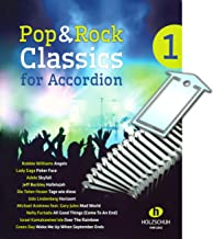 Pop and Rock Classics for Accordion [Noten/sheet music] med praktisk notklammer