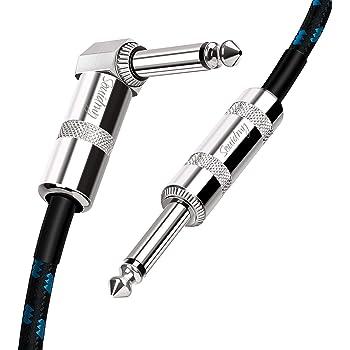 Souidmy Cable de Guitarra Eléctrica, Guitar Cable 3m(10