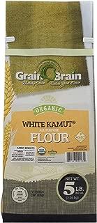 Organic White Kamut All Purpose Flour, (5 Pound)