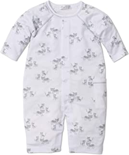 Kissy Kissy Baby-Boys Infant Leopard Love Silver Print Playsuit