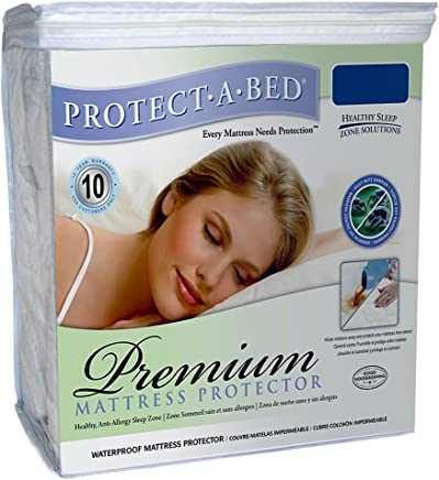 Protect-A-Bed Premium Waterproof Full XL Mattress Protector