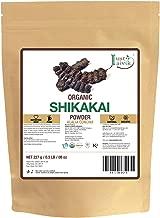 Just Jaivik 100% Organic Shikakai Powder - Certified Organic by OneCert Asia, 227 gms / 1/2 LB Pound / 08 Oz - Acacia Concina - (AN USDA Organic Herb)