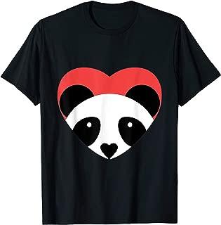 I Heart Pandas T Shirt - Cute Panda Tee
