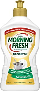 Morning Fresh Ultimate Original Dishwashing Liquid, 350 milliliters