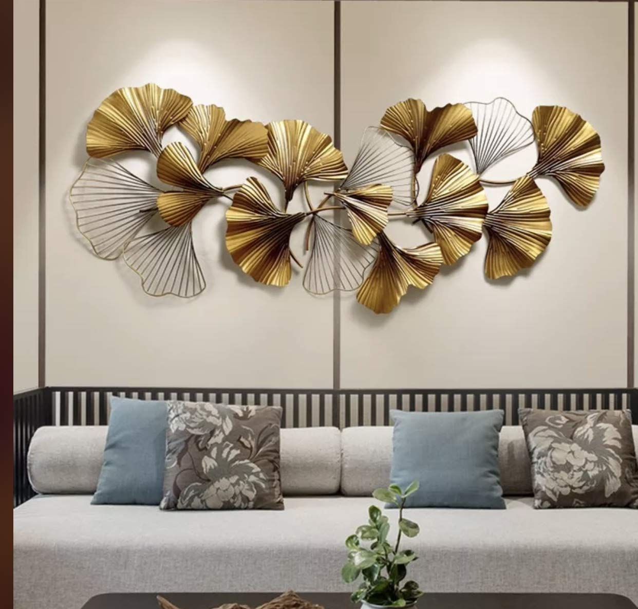AJ Decor Metal Wall Art Iron Wall Hanging Home Decoration Perfect for  Living Room/Hotel/Restaurant/Bedroom/Drawing Room (Color : Multi) (Size :  140 x 60 cm) : Amazon.in: Pet Supplies