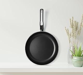 Black+Decker 28cm Non-Stick Fry Pan & Frying Pan with 5 Layer PTFE Non-Stick Spray Coating BXSFP28BME