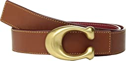 32mm Sculpted C Reversible Glovetanned Belt