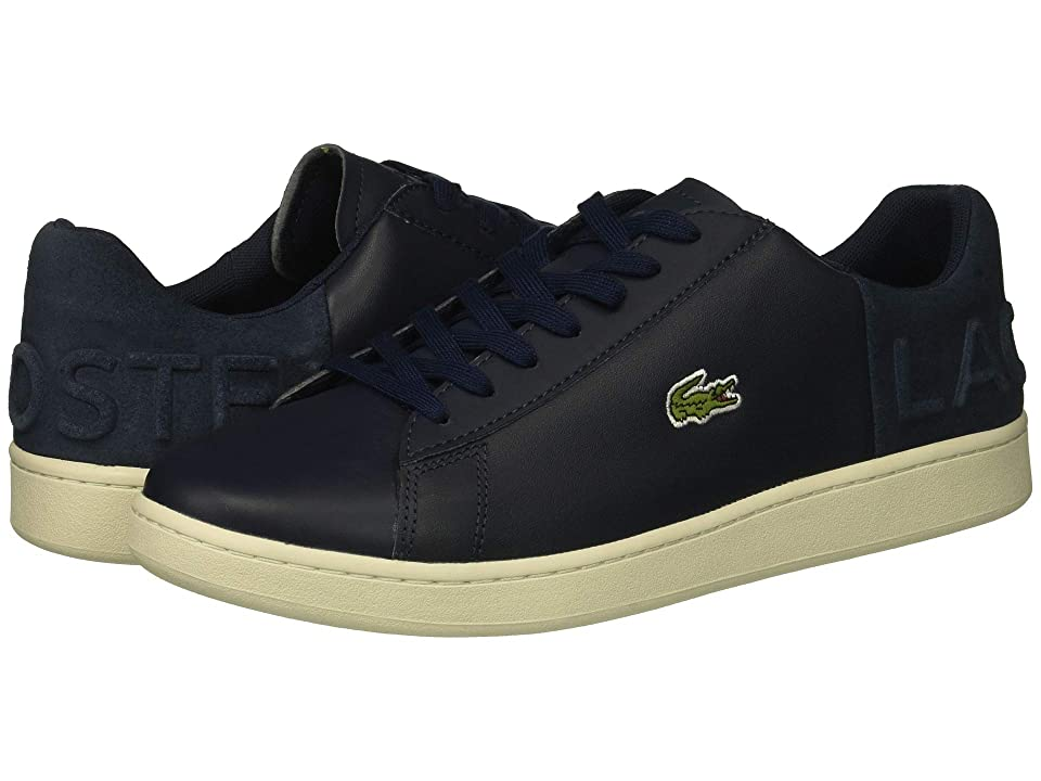 Lacoste Carnaby Evo 418 1 (Navy/Off-White) Men