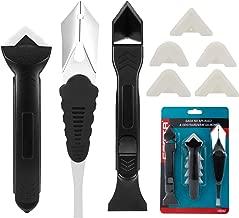 3pcs Raspador de eliminación de silicona, Kit de herramientas de Calafking Herramienta de Calafado de acabado sellador para baño cocina encimera Lavabo