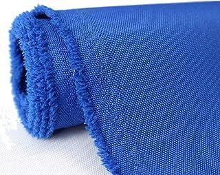 Segeltuch-Stoff, wasserdicht, Outdoor-Stoff von The Yard Hunter Green 1 YARD königsblau