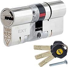 Yale Platinum 3 Star, Cilindro Europeo, Resistente a Golpes, de Alta Seguridad uPVC, Cerradura Barril para Puertas, TS2007.