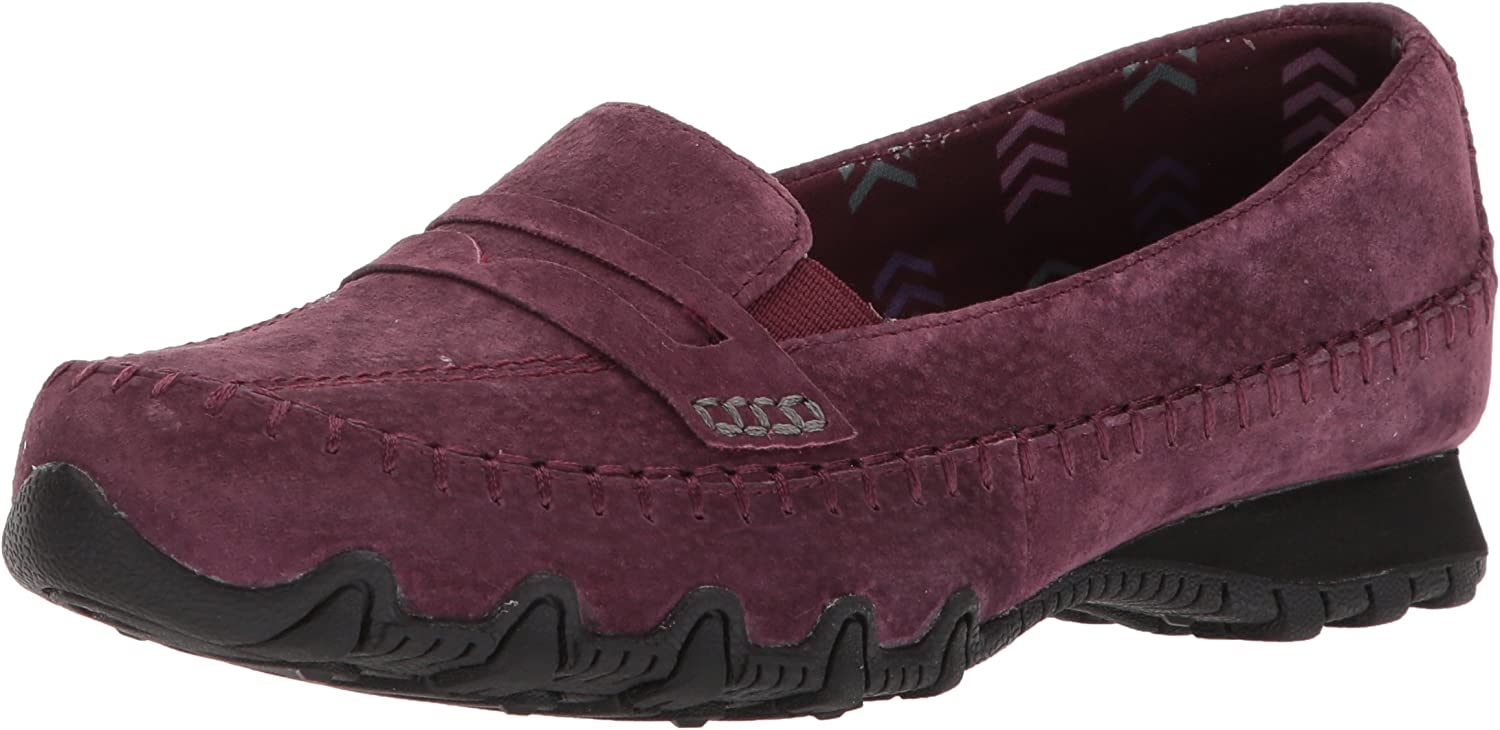 Skechers Woherren Woherren Woherren Bikers Lane Penny Loafer,Burgundy,8 W US  02c648
