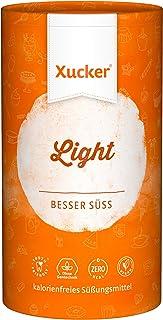 Xucker Light Erythrit 1kg Dose - kalorienfreier Zuckerersatz als Vegane & zahnfreundliche Zucker Alternative