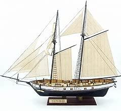 KISENG 1/130 帆船模型 木製 帆船モデル DIY模型キット 手作り 船組立モデルキット クラシック 船模型 モデル装飾 380×130×270mm
