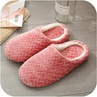 Autumn Winter Women Slippers Bottom Soft Home Shoes Cotton Men Slippers Indoor Women Shoes for Couple