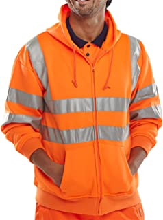 Bseen High Viz Hooded Sweatshirt